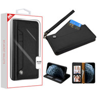 MyBat Noble MyJacket Wallet Case for Apple iPhone 11 Pro - Black