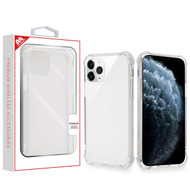 MyBat Sturdy Gummy Cover for Apple iPhone 11 Pro - Highly Transparent Clear / Transparent Clear