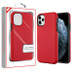 MyBat Fuse Hybrid Protector Cover for Apple iPhone 11 Pro - Red Carbon Fiber Texture / Black