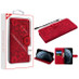 MyBat 3D Mandala MyJacket Wallet for Apple iPhone 11 Pro - Red
