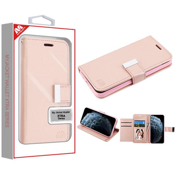 MyBat MyJacket Wallet Xtra Series for Apple iPhone 11 Pro - Rose Gold