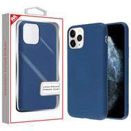 MyBat Liquid Silicone Protector Cover for Apple iPhone 11 Pro - Ink Blue