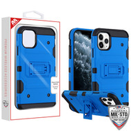 MyBat Storm Tank Hybrid Protector Cover [Military-Grade Certified] for Apple iPhone 11 Pro - Blue / Black