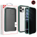 MyBat Privacy Magnetic Hybrid Protector Cover for Apple iPhone 11 Pro - Midnight Green