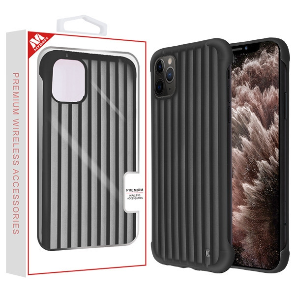 MyBat Suitcase Frost Protective Case for Apple iPhone 11 Pro Max - Black