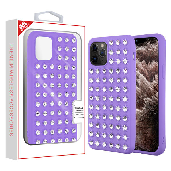 MyBat Dazzling Diamond Candy Case for Apple iPhone 11 Pro Max - Purple