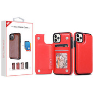 MyBat Stow Wallet Case for Apple iPhone 11 Pro Max - Red