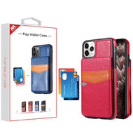 MyBat Flap Wallet Case for Apple iPhone 11 Pro Max - Hot Pink