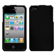 MyBat Protector Cover for Apple iPhone 4s/4 - Solid Black