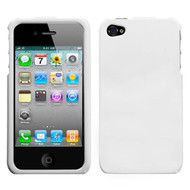 MyBat Protector Cover for Apple iPhone 4s/4 - Solid Ivory White