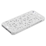 MyBat Bird's Nest Back Protector Cover for Apple iPhone 5s/5 - Rubberized White