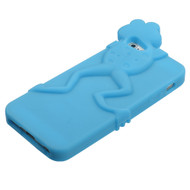 MyBat Peeking Pets Skin Cover for Apple iPhone 5s/5 - Baby Blue Frog