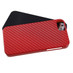 MyBat Fusion Protector Cover for Apple iPhone 5s/5 - Red Crosshatch / Black