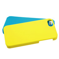 MyBat Fusion Protector Cover for Apple iPhone 5s/5 - Rubberized Yellow / Tropical Teal
