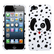 MyBat Protector Cover for Apple iPhone 5s/5 - Dotted Dalmatian