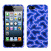 MyBat Protector Cover for Apple iPhone 5s/5 - Blue Lightning