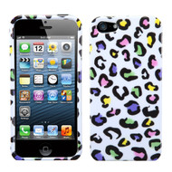 MyBat Protector Cover for Apple iPhone 5s/5 - Colorful Leopard