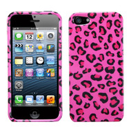 MyBat Protector Cover for Apple iPhone 5s/5 - Pink Leopard Skin