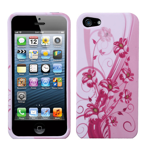 MyBat Protector Cover for Apple iPhone 5s/5 - Blooming Lily