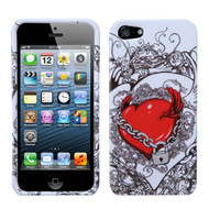 MyBat Protector Cover for Apple iPhone 5s/5 - Secret Love