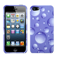 MyBat Protector Cover for Apple iPhone 5s/5 - Purple Bigger Bubbles
