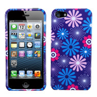 MyBat Protector Cover for Apple iPhone 5s/5 - Flower Fireworks