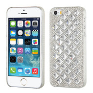 MyBat Desire Back Protector Cover for Apple iPhone 5s/5 - Silver