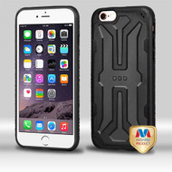 MyBat DefyR Hybrid Protector Cover for Apple iPhone 6s Plus/6 Plus - Natural Blake / Black