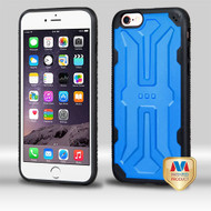MyBat DefyR Hybrid Protector Cover for Apple iPhone 6s Plus/6 Plus - Natural Dark Blue / Black
