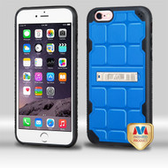 MyBat DefyR Hybrid Protector Cover (with Stand) for Apple iPhone 6s Plus/6 Plus - Natural Dark Blue / Black