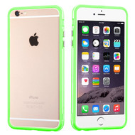 MyBat MyBumper Protector Cover for Apple iPhone 6s Plus/6 Plus - Apple Green / Transparent Clear