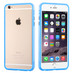 MyBat MyBumper Protector Cover for Apple iPhone 6s Plus/6 Plus - Baby Blue / Transparent Clear