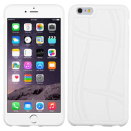 MyBat Basketball Texture Candy Skin Cover for Apple iPhone 6s Plus/6 Plus - White