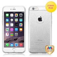 MyBat ECHO Premium Candy Skin Cover for Apple iPhone 6s Plus/6 Plus - Glassy Transparent Clear