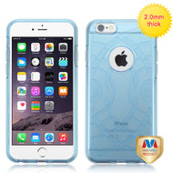 MyBat ECHO Premium Candy Skin Cover for Apple iPhone 6s Plus/6 Plus - Glassy Transparent Baby Blue