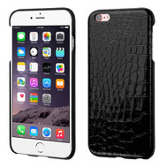 MyBat Crocodile Skin Executive Back Protector Cover for Apple iPhone 6s Plus/6 Plus - Black