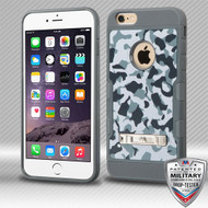 MyBat TUFF Trooper Hybrid Protector Cover [Military-Grade Certified] (with Stand) for Apple iPhone 6s Plus/6 Plus - Urban Camouflage / Iron Gray