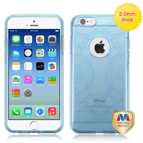 MyBat ECHO Premium Candy Skin Cover for Apple iPhone 6s/6 - Glassy Transparent Baby Blue