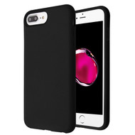 MyBat Fuse Hybrid Protector Cover for Apple iPhone 8 Plus/7 Plus - Rubberized Black / Black