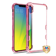 MyBat TUFF Klarity Candy Skin Cover for Apple iPhone XS Max - Rose Gold Plating