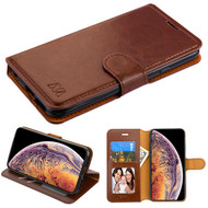 MyBat MyJacket Wallet Element Series for Apple iPhone XS Max - Brown
