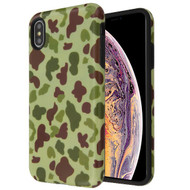MyBat Fuse Hybrid Protector Cover for Apple iPhone XS Max - Duck Camo / Black