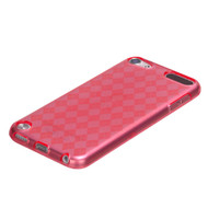 MyBat Argyle Pane Candy Skin Cover for Apple iPod touch (5th generation) - T-Red