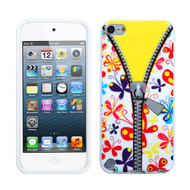 MyBat Candy Skin Cover for Apple iPod touch (5th generation) - Butterfly / Zipper