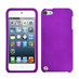 MyBat Protector Cover for Apple iPod touch (5th generation) - Rubberized Grape