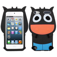 MyBat Pastel Skin Cover for Apple iPod touch (5th generation) - Black Cow