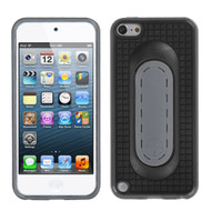 MyBat Snap Tail Stand Protector Cover for Apple iPod touch (5th generation) - Black