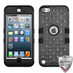 MyBat FullStar TUFF Hybrid Protector Cover [Military-Grade Certified] for Apple iPod touch (5th generation) - Natural Black / Black