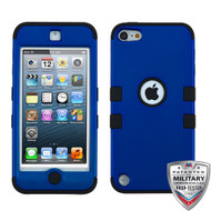 MyBat TUFF Hybrid Protector Cover [Military-Grade Certified] for Apple iPod touch (5th generation) - Titanium Dark Blue / Black