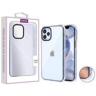 Asmyna Corner Guard Candy Skin Cover for Apple iPhone 12 (6.1) - Transparent Clear